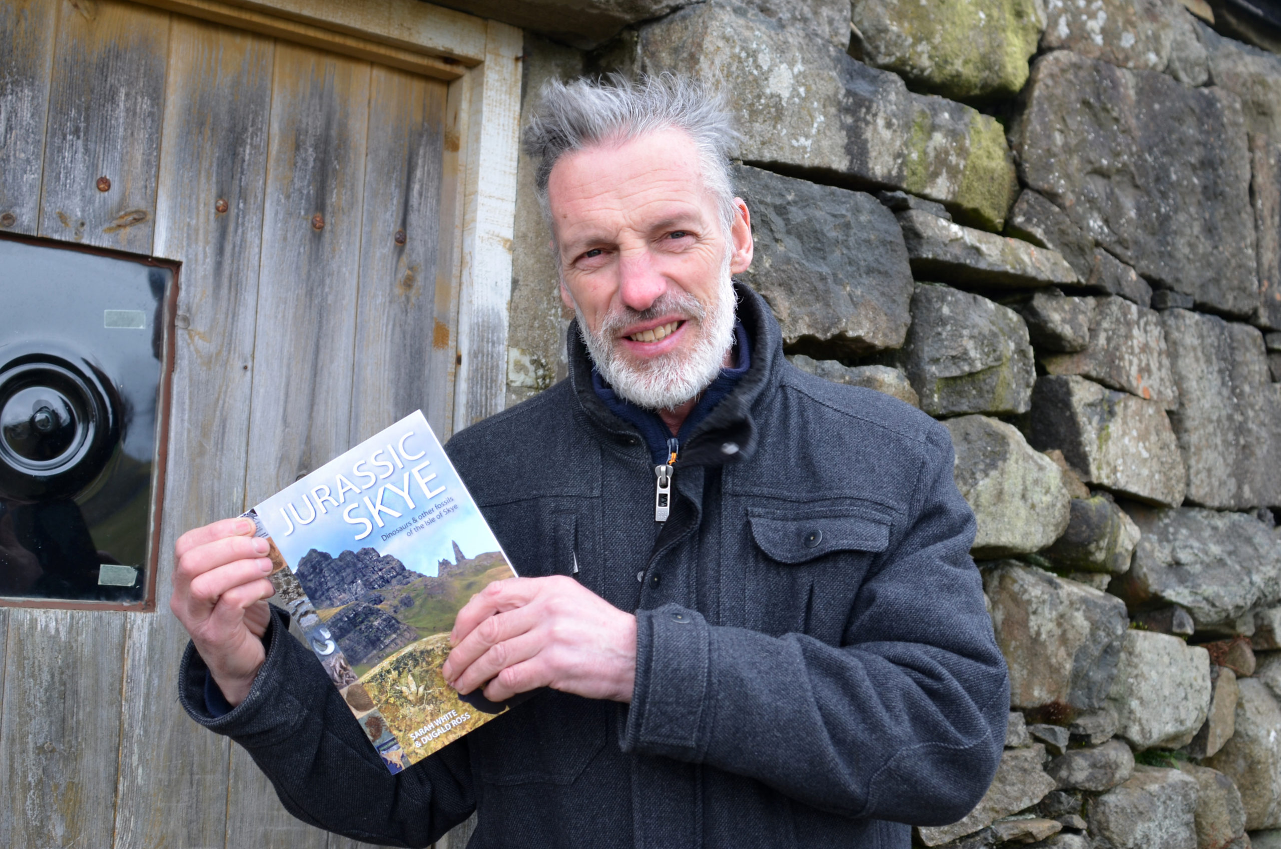 Dugald Ross, curator of Staffin Museum, has helped compile the finds into the first documented guide to the Jurassic finds on Skye