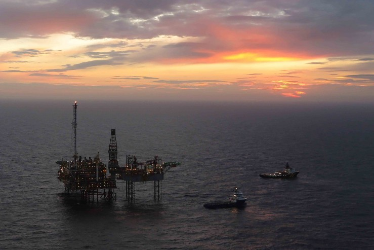 BP's ETAP installation in the central North Sea.