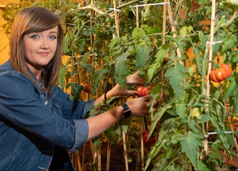 Ellie Sinclair, founder of The North East Food Hub and owner of VegCo.