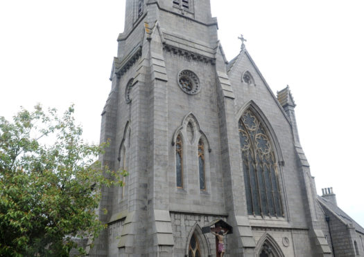 St Mary's Cathedral on Huntly Street Aberdeen