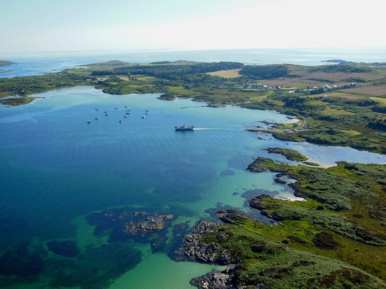 The Island of Gigha, which is owned by the community, will encourage more active travel to its sites of interest