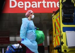 """The NHS system has been described as """"eerily quiet"""" but Dr Gregor Smith is urging people to still present with symptoms."""