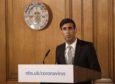 Chancellor Rishi Sunak