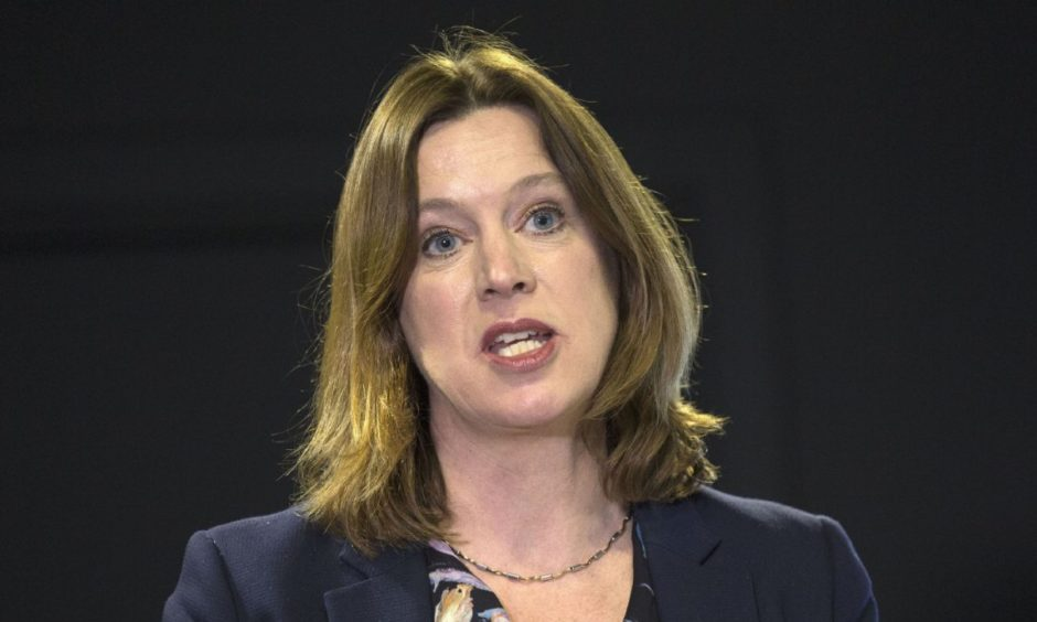 Chief Medical Officer Dr Catherine Calderwood during a media briefing at St Andrew's House in Edinburgh on coronavirus (COVID-19)