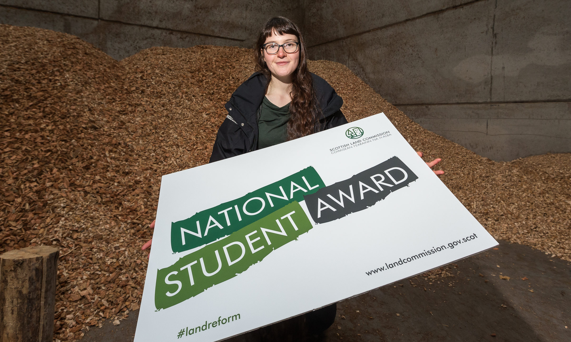 Heloise Le Moal receives the Scottish Land Commission National Student Award 2020