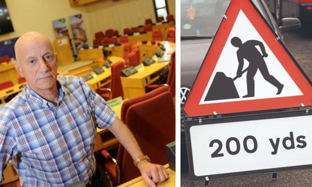 Skye councillor John Finlayson has called upon the Highland Council to ensure Skye roads are not forgotten