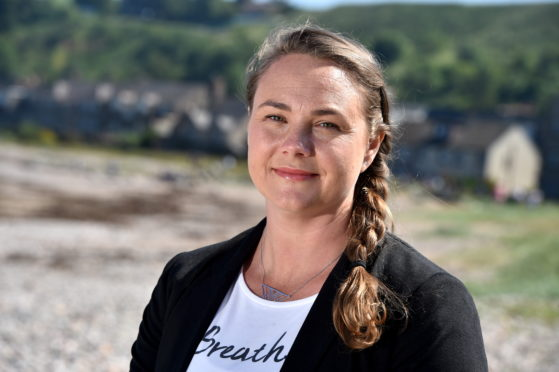 Julia Morton, director of The Haven in Stonehaven