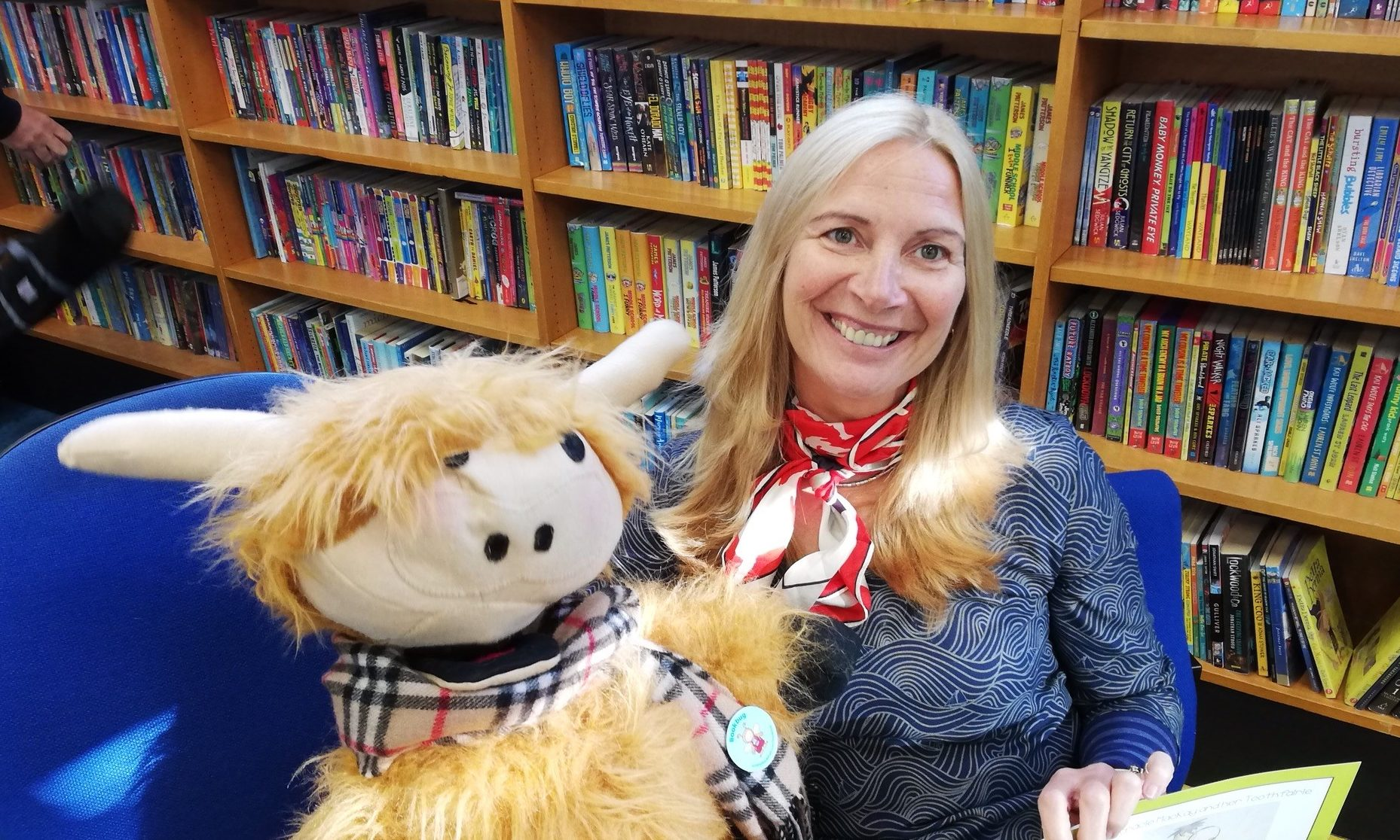 Children's author and illustrator Mandy E Rush