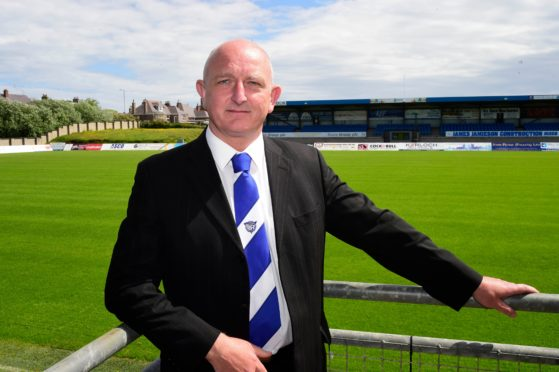 Peterhead general manager Martin Johnston.