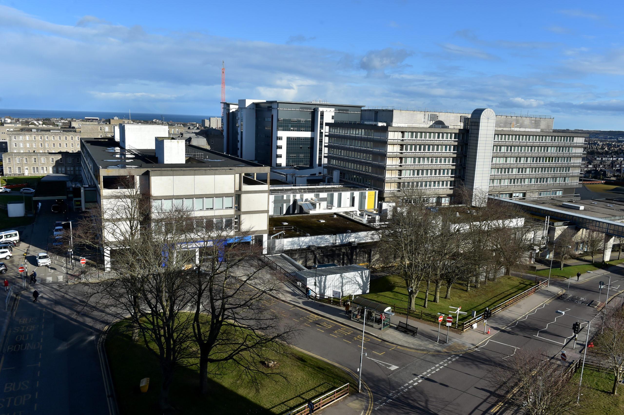 Aberdeen Royal Infirmary.
