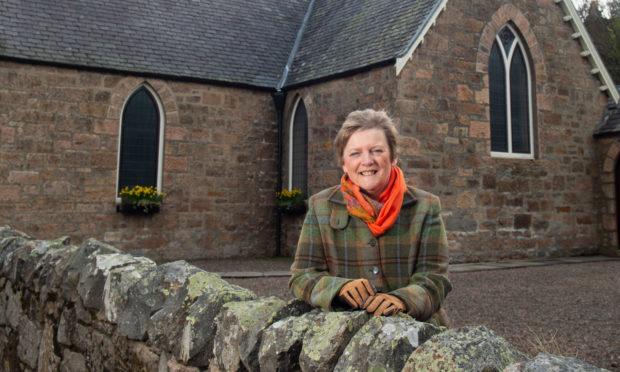 Jane Tweedie (church elder) is pictured at Craigellachie Church, Craigellachie. Picture by Jason Hedges.   Pictures by JASON HEDGES