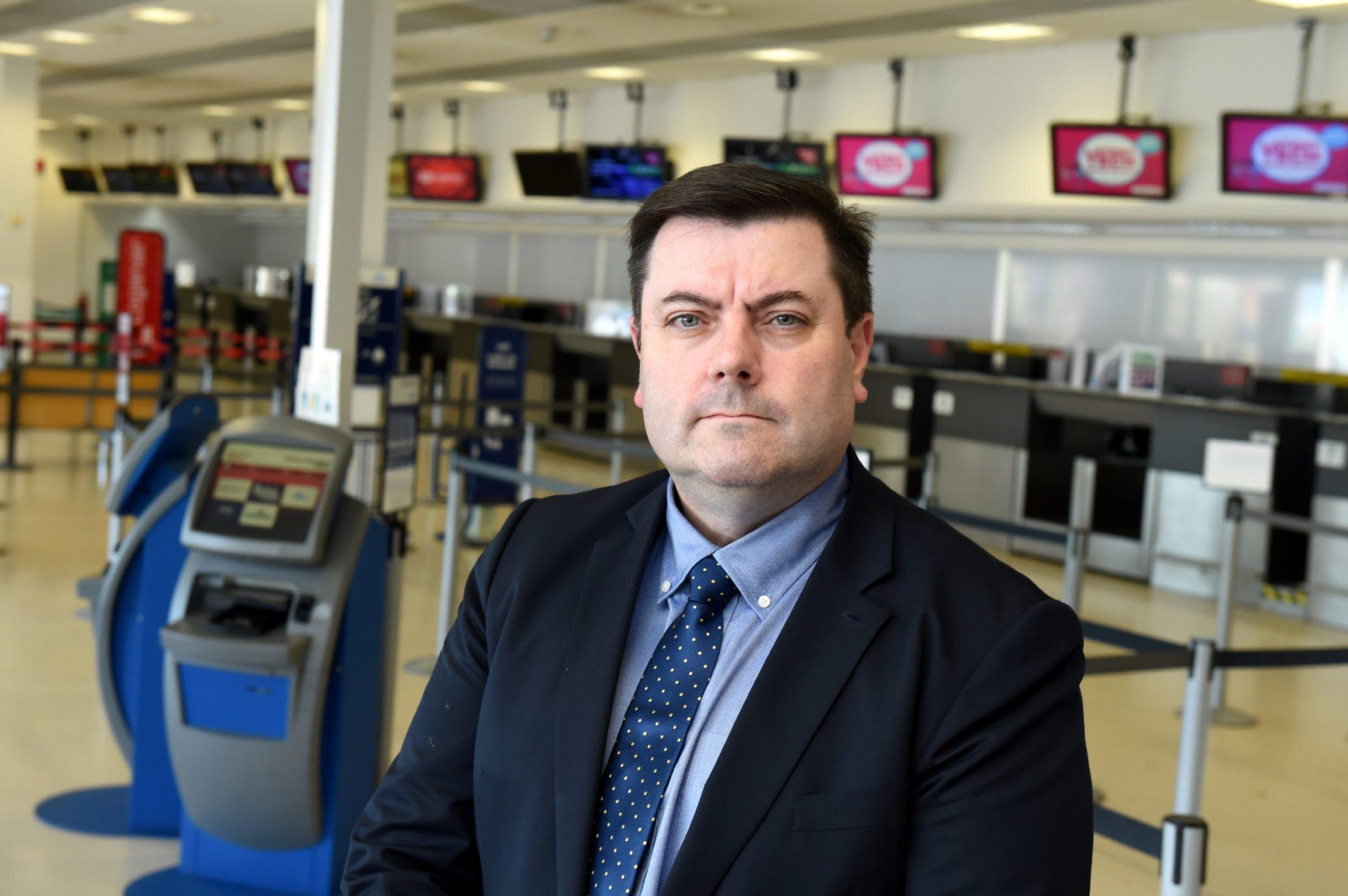 Aberdeen Airport managing director, Steve Szalay.