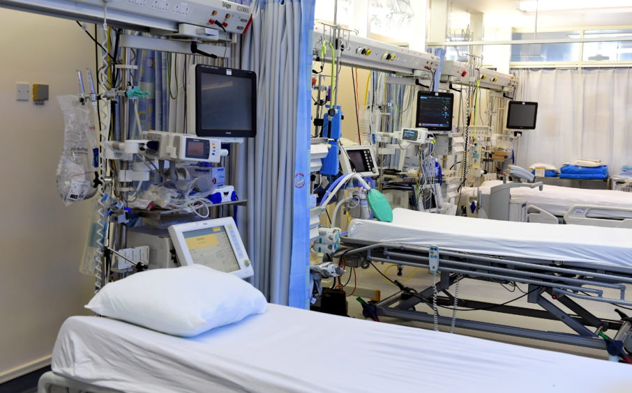 The race is on to add to Scotland's Intensive care capacity.