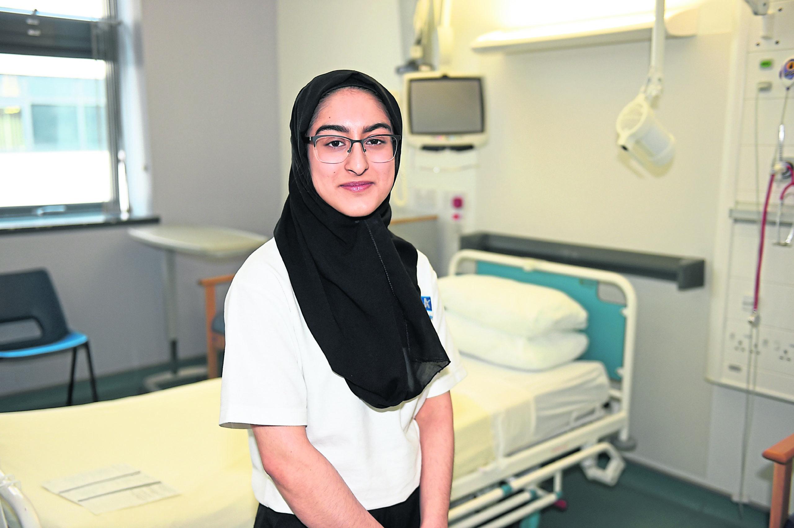 Apprentice Samika Ali Picture by Paul Glendell