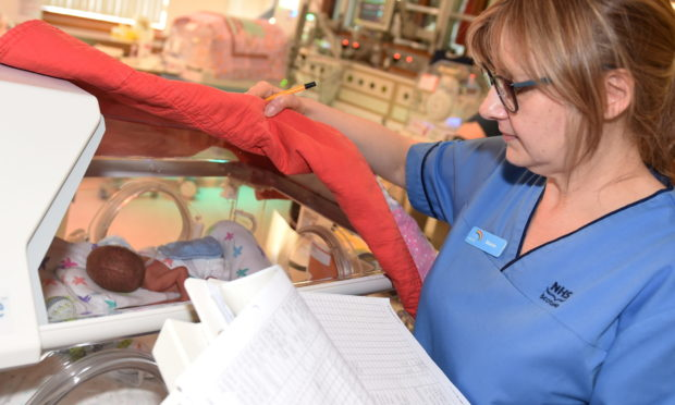Neonatal nurse Sharon Smith   Picture by Paul Glendell