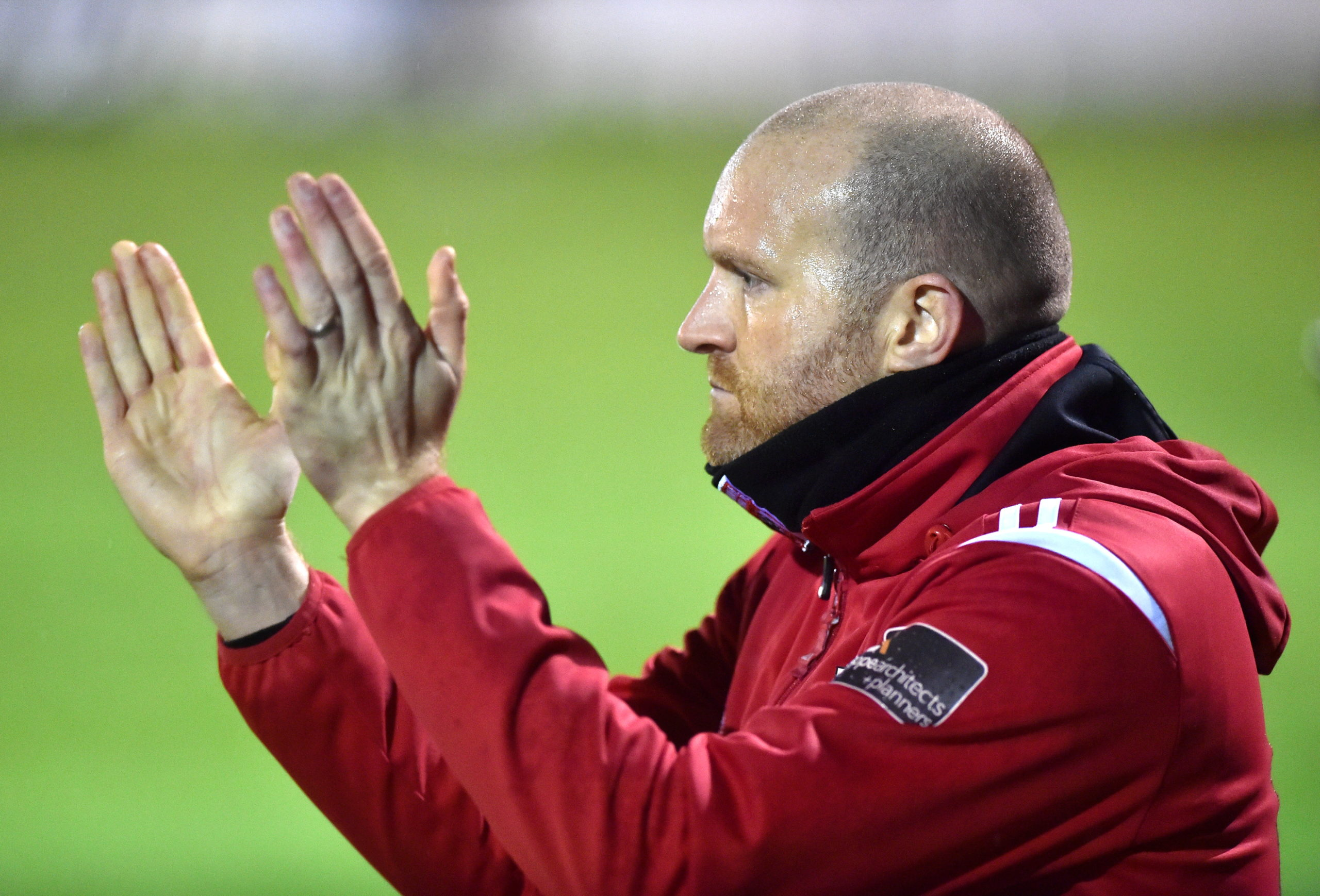 Inverurie Locos manager Andy Low.