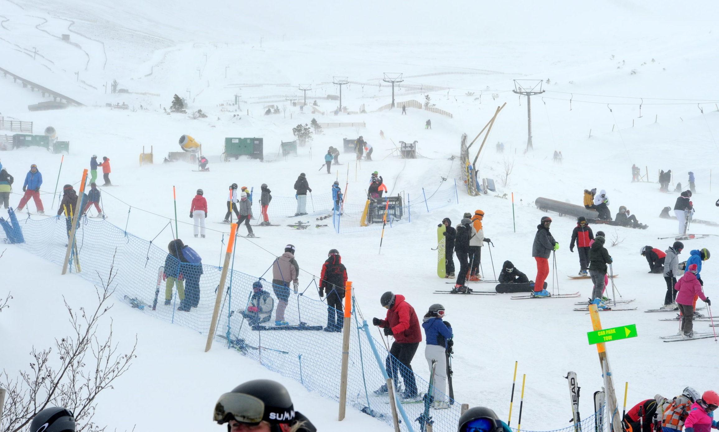 Ski-ing to return to the Cairngorms