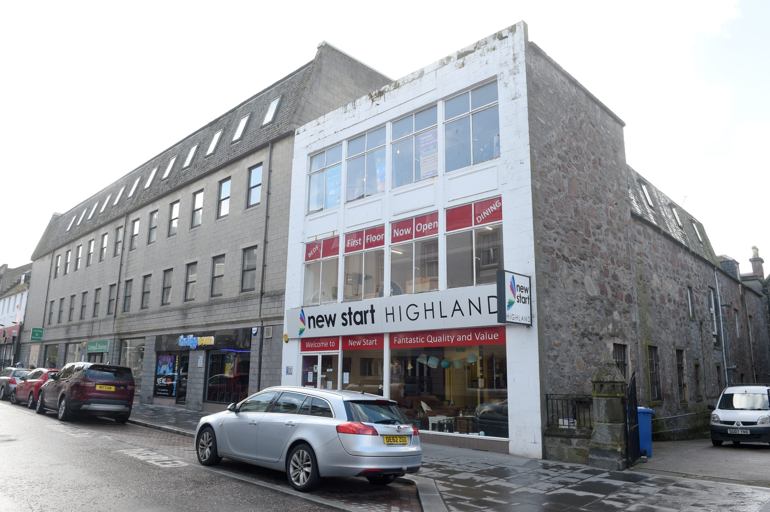 The New Start Highland building in Church Street, Inverness. Picture by Sandy McCook.