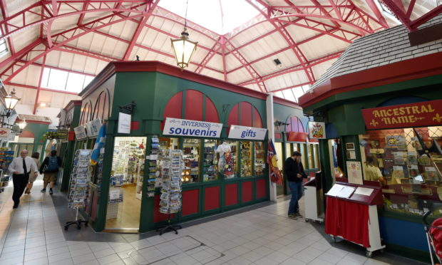 The Victorian Market in Inverness. Picture by Sandy McCook.