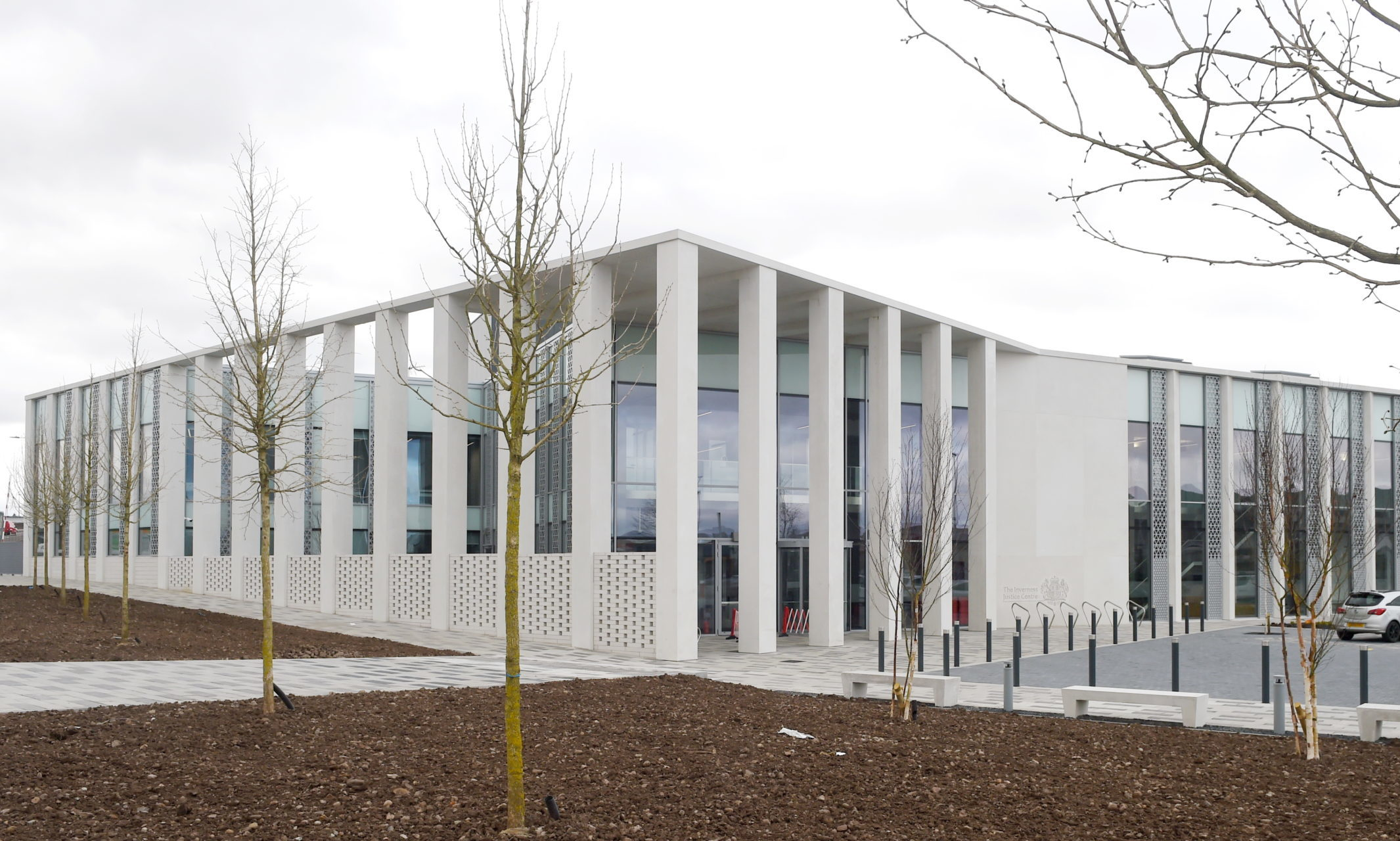 The new Inverness Justice Centre. Picture by Sandy McCook.