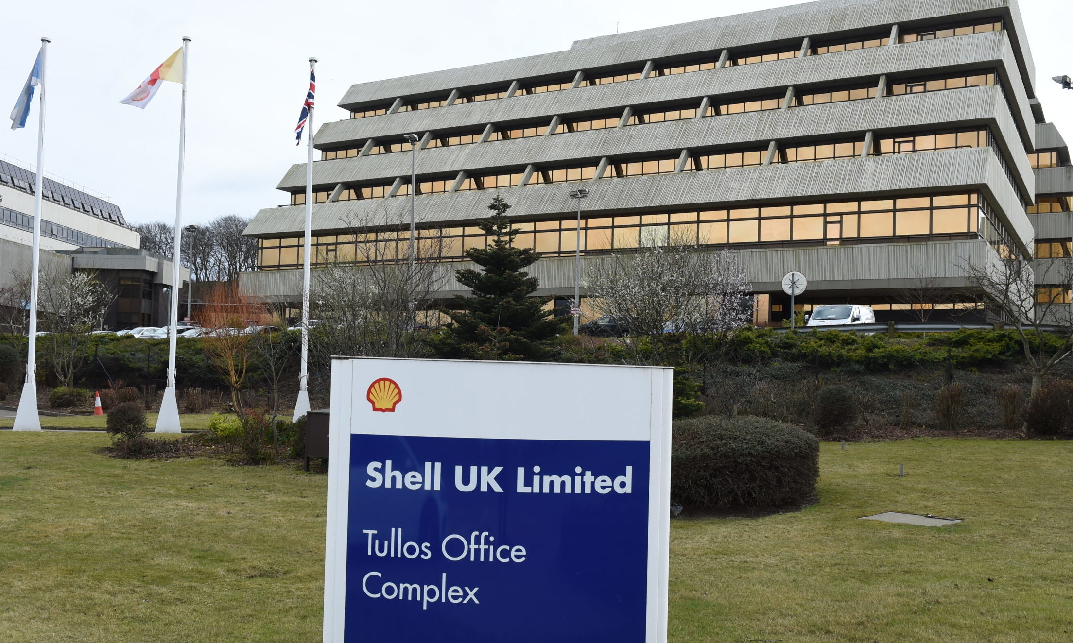 Shell HQ in Tullos. Picture by Kenny Elrick.