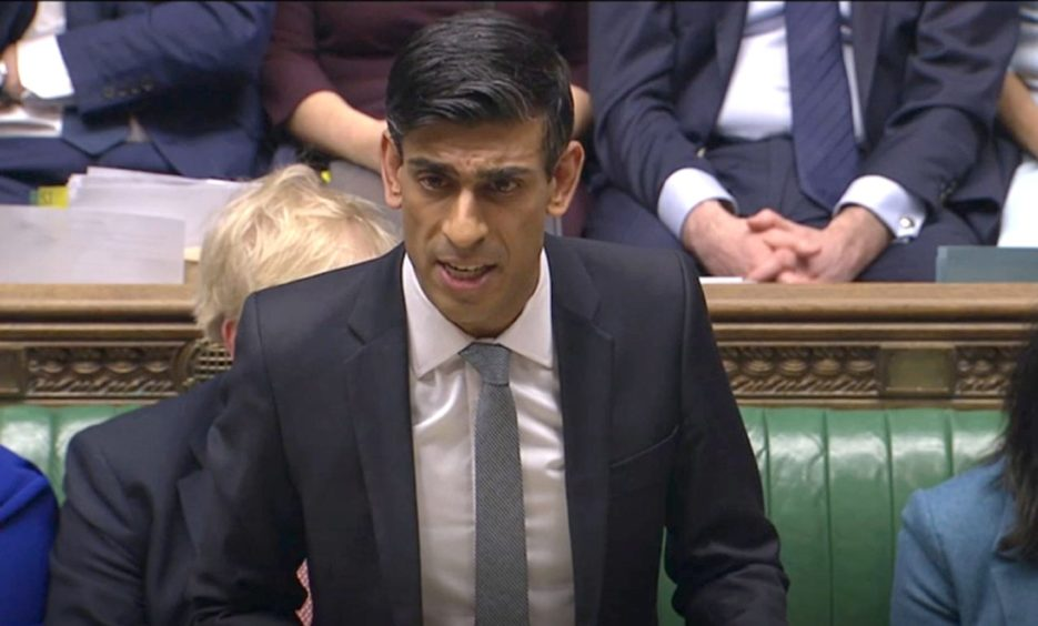Chancellor Rishi Sunak delivers his Budget in the House of Commons, London. PA Photo. Picture date: Wednesday March 11, 2020. See PA story POLITICS Budget. Photo credit should read: House of Commons/PA Wire