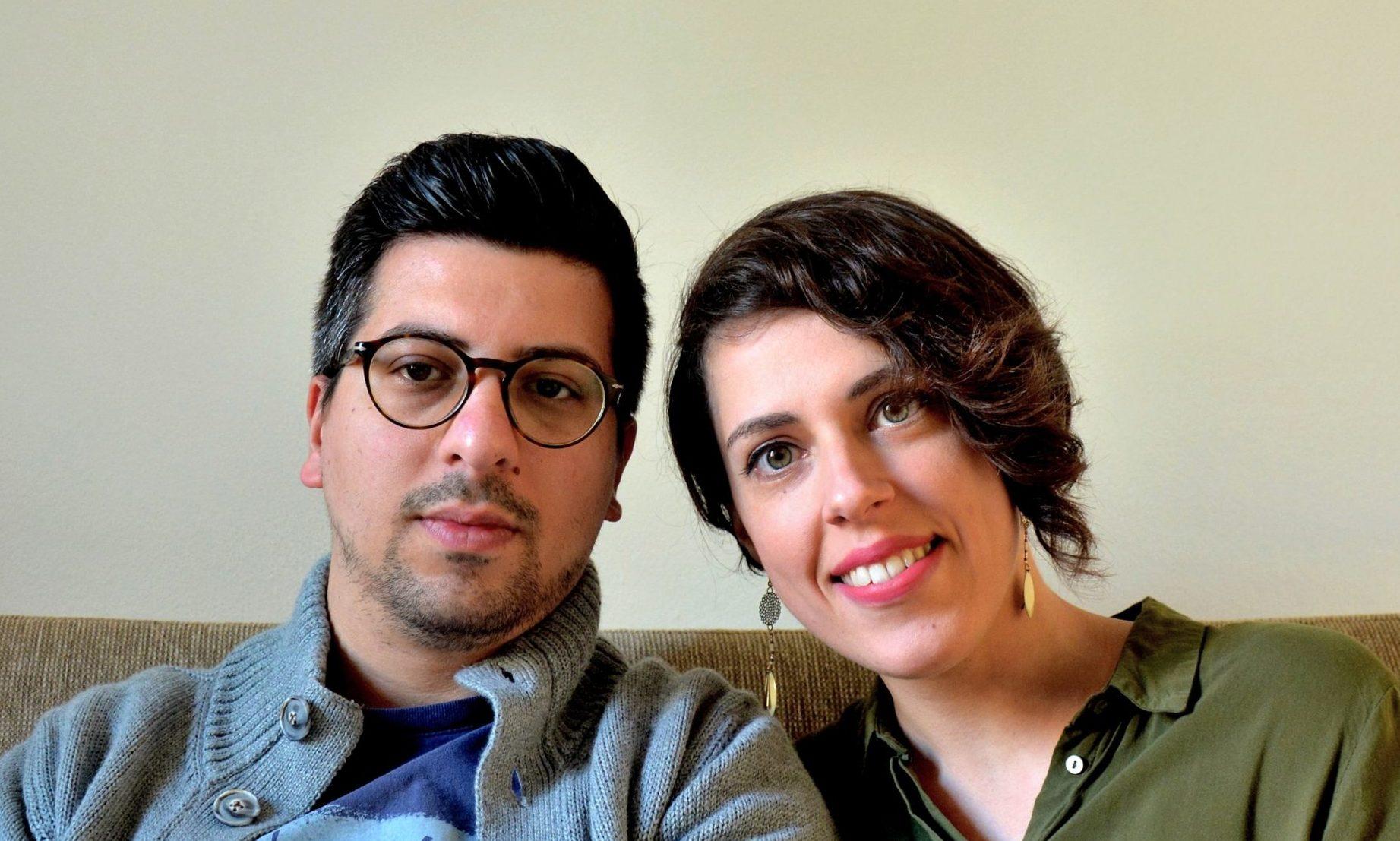 Roberto Parrucci and Claudia Gloazzo.