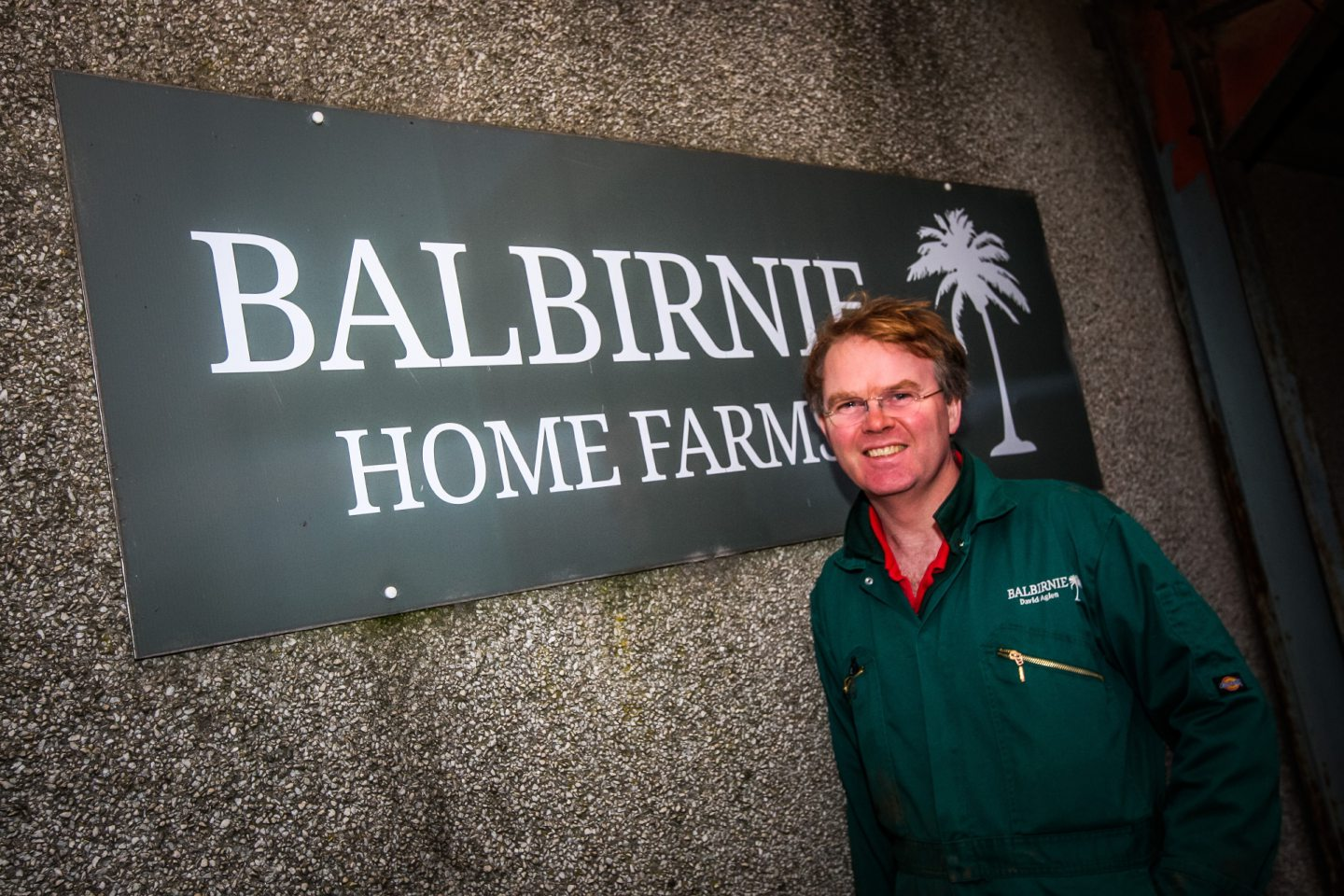 David Aglen from Balbirnie Home Farms.