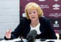 Ann Budge is desperate to keep the Jambos in the top-flight.