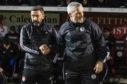 Aberdeen manager Derek McInnes (left) with St Mirren manager Jim Goodwin.