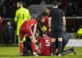 Scott McKenna picked up a hamstring injury against St Mirren in the 2-0 Scottish Cup win.