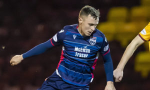 Ross County midfielder Jordan Tillson accepts he will have to get used to lack of Premiership crowds