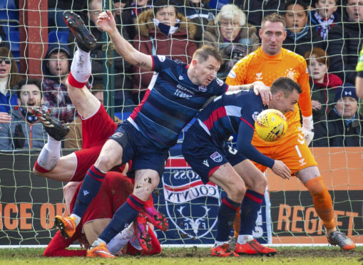 Ross County in action.