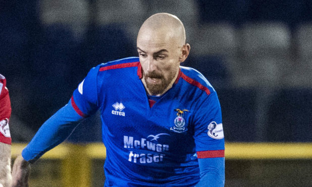 James Vincent rejoined Inverness last year from Dunfermline.