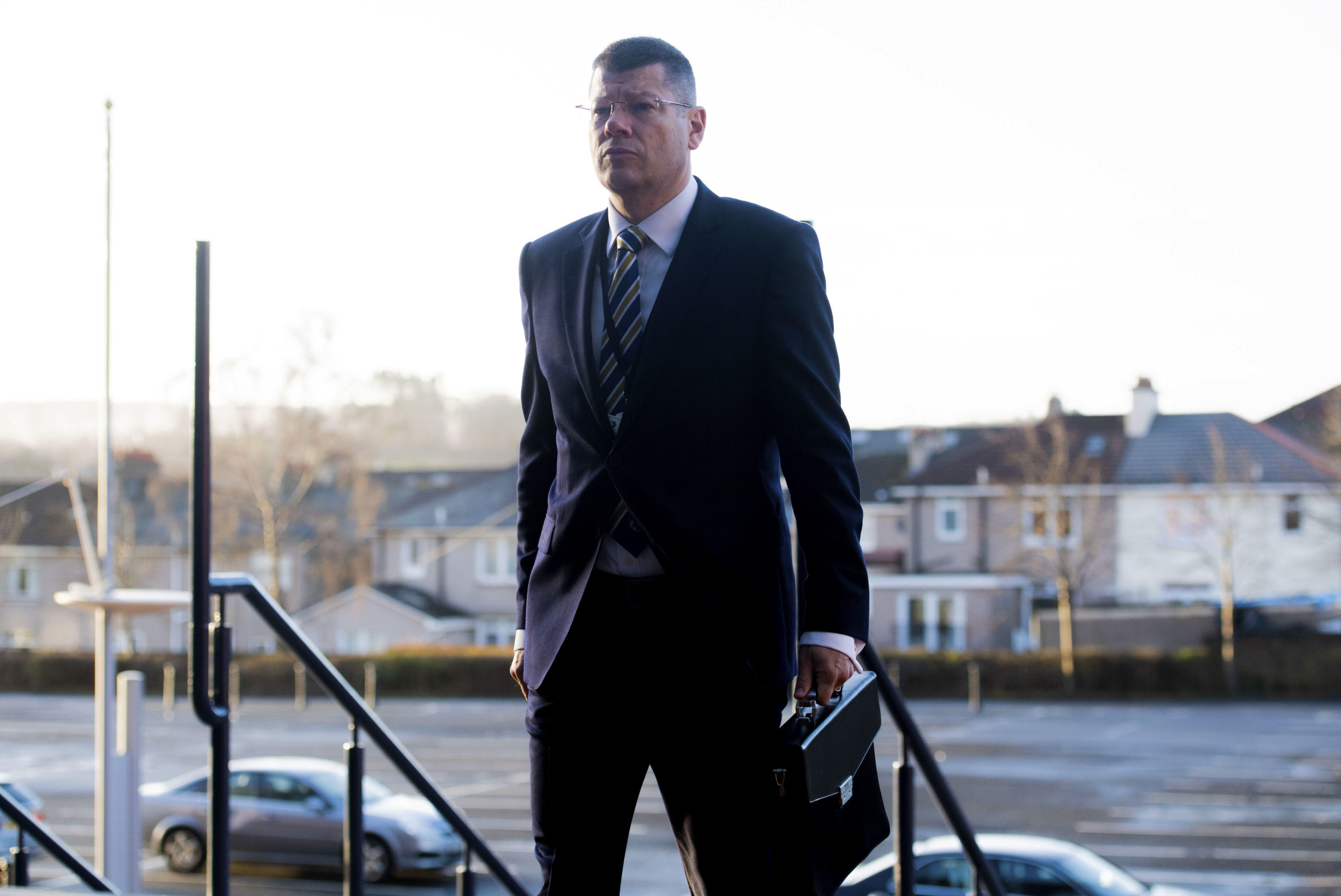 SPFL chief Neil Doncaster. There was a lot of tension over curtailing the 2019/20 season.