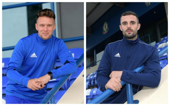 Ryan Strachan and Scott Ross have signed new deals with Cove Rangers.