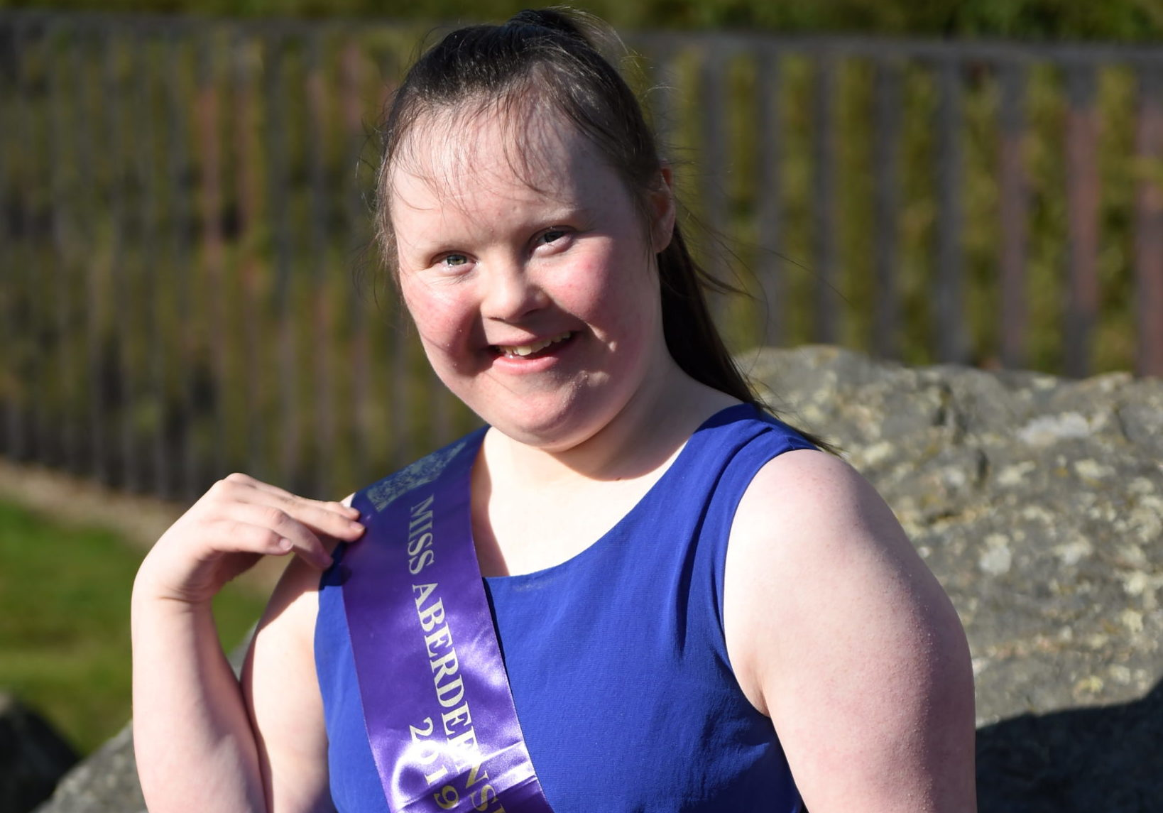 Taylor Clark, who has Down's Syndrome, has hopes she can claim the Miss Galaxy UK crown. Pictures by Paul Glendell.