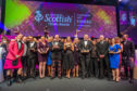 Winners from this year's National Scottish Thistle Awards.
