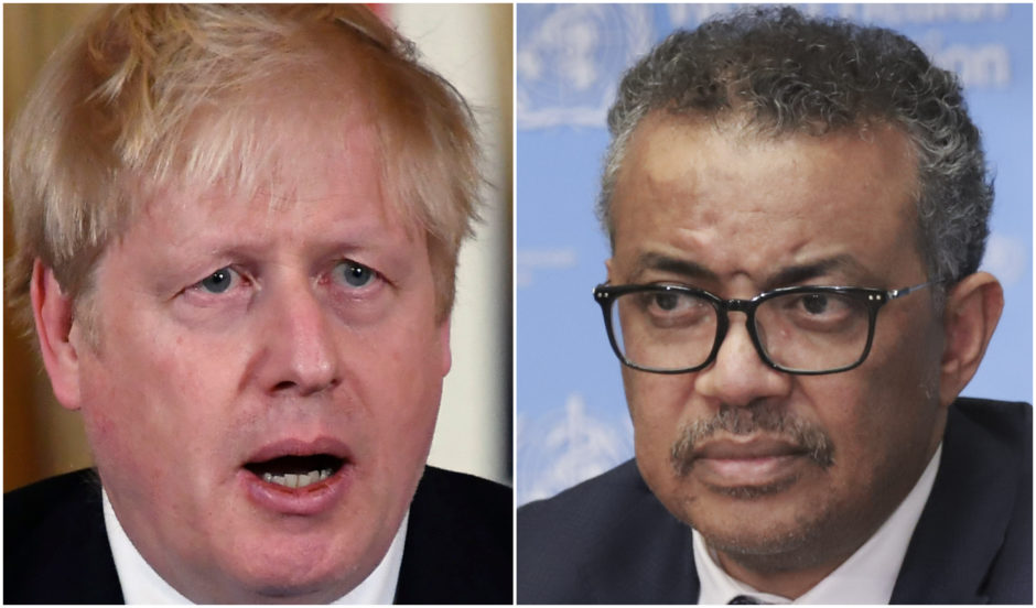 The Prime Minister is expected to call for tighter controls after WHO chief Dr Tedros Adhanom Ghebreyesus declared coronavirus a pandemic.