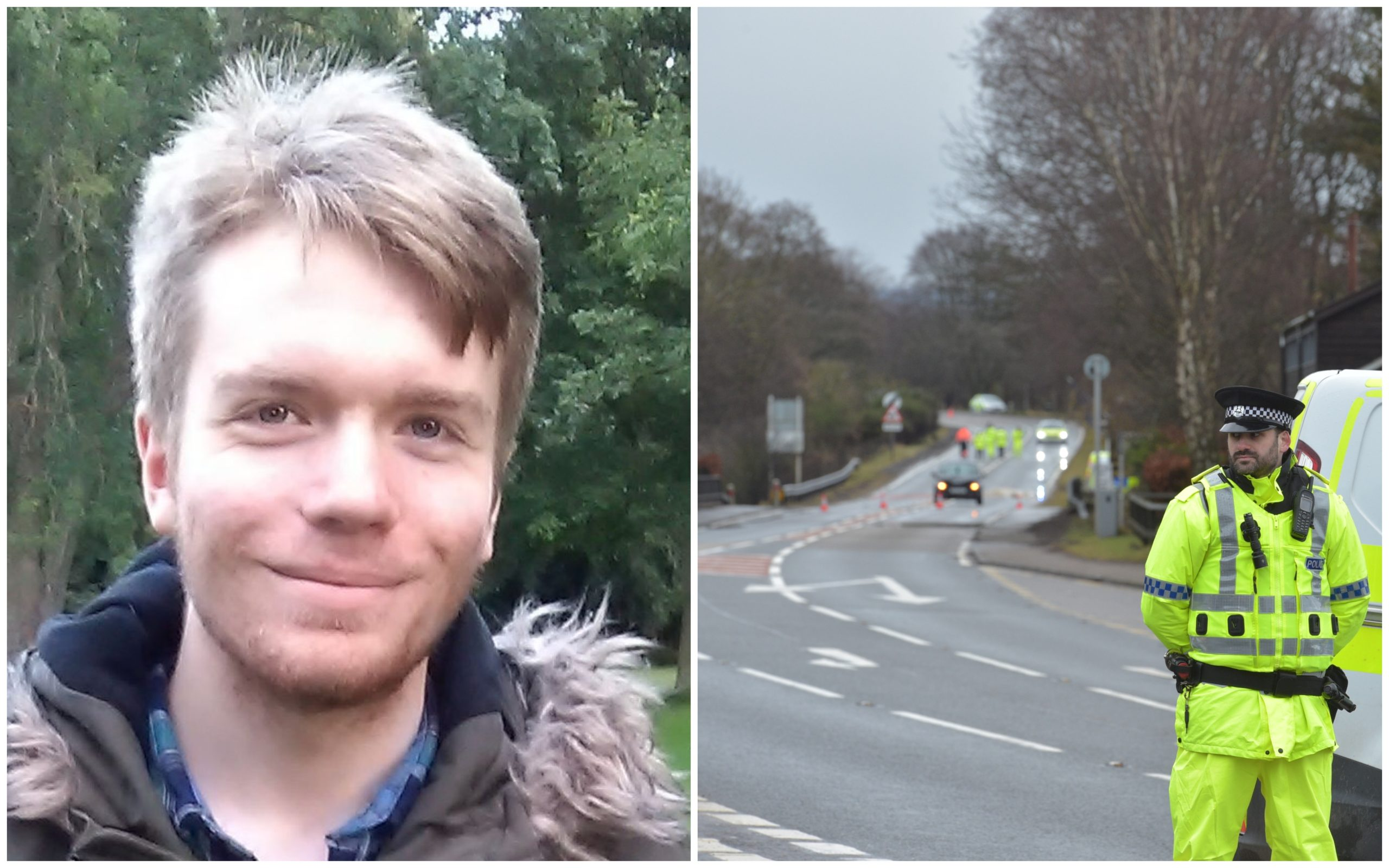 Fabian Hall was killed in the A96 crash in the early hours of Saturday.