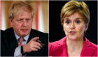 Boris Johnson and Nicola Sturgeon announced dramatic measures to combat the virus
