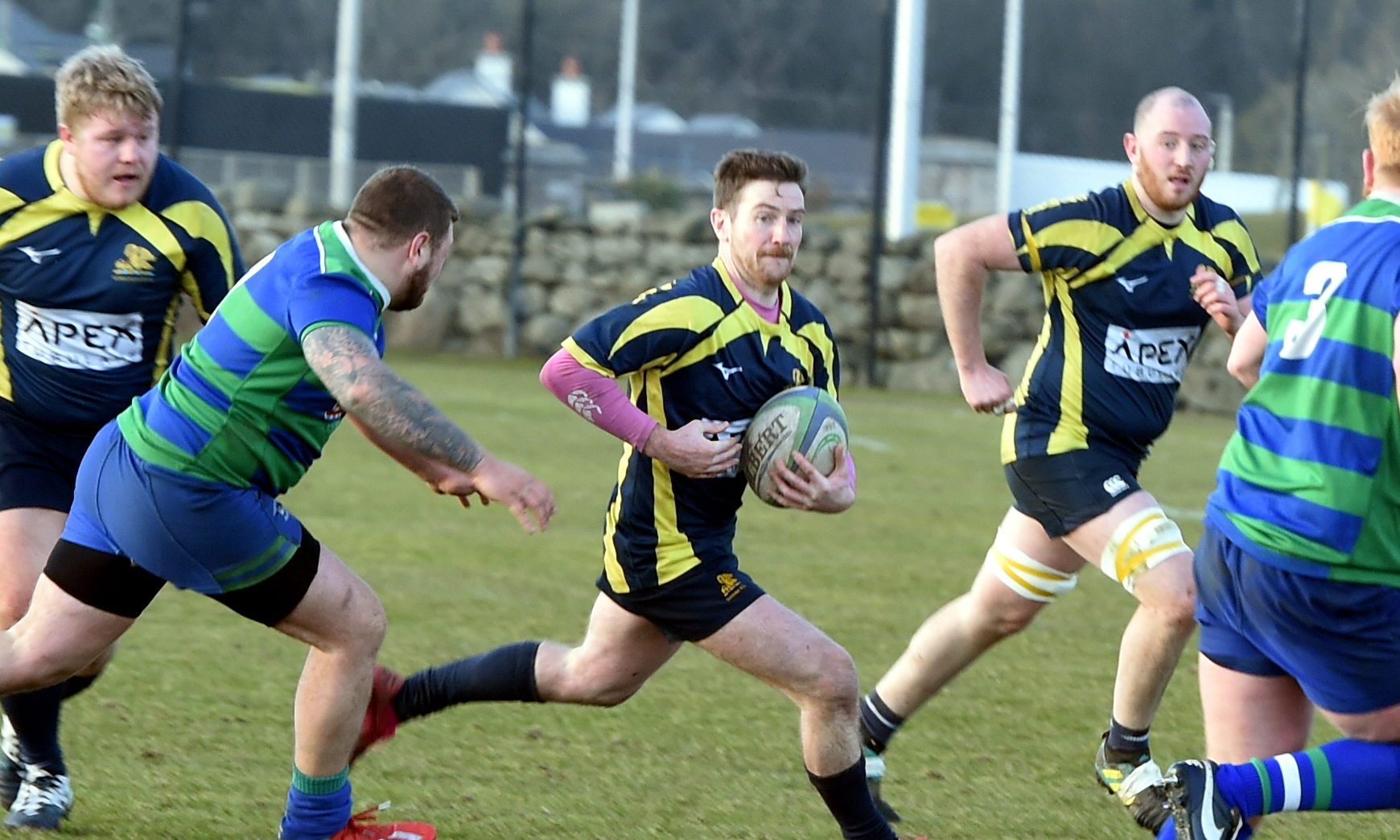 Gordonians are awaiting news on when competitive rugby will return.