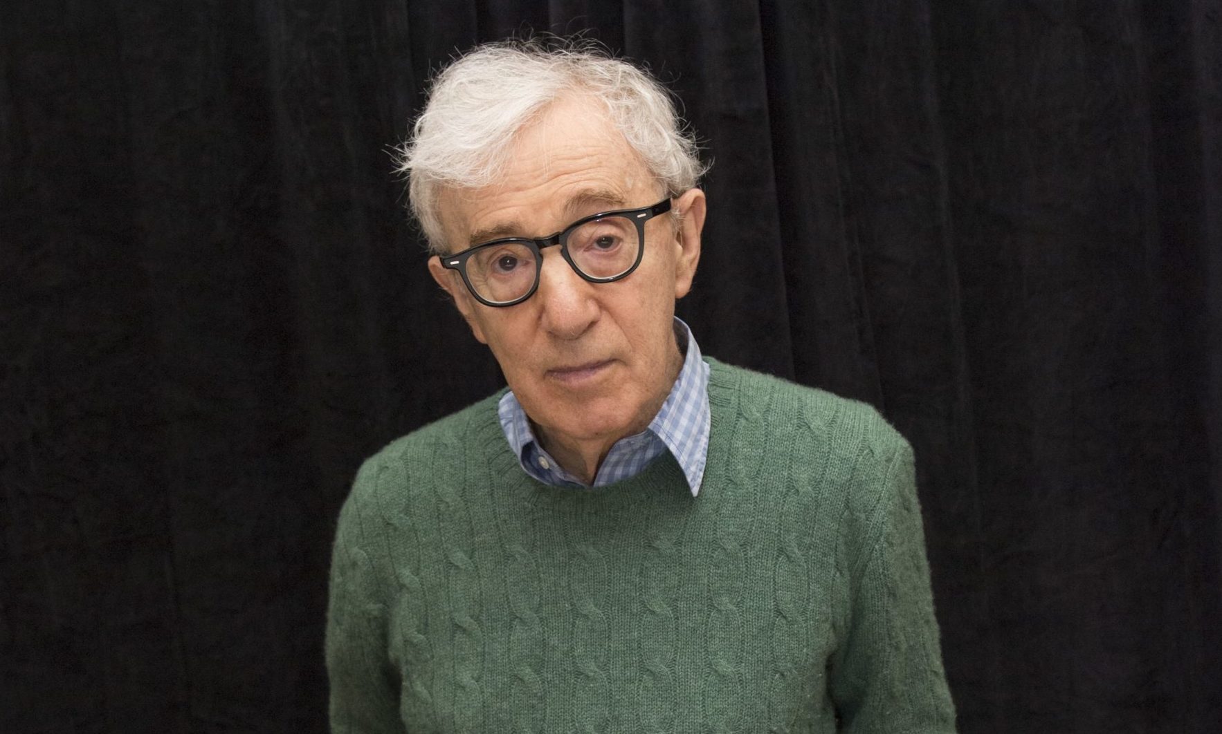 Woody Allen at the 'Wonder Wheel' film photocall in New York