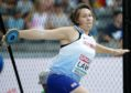 Kirsty Law, Scotland's top discus thrower and NHS worker.