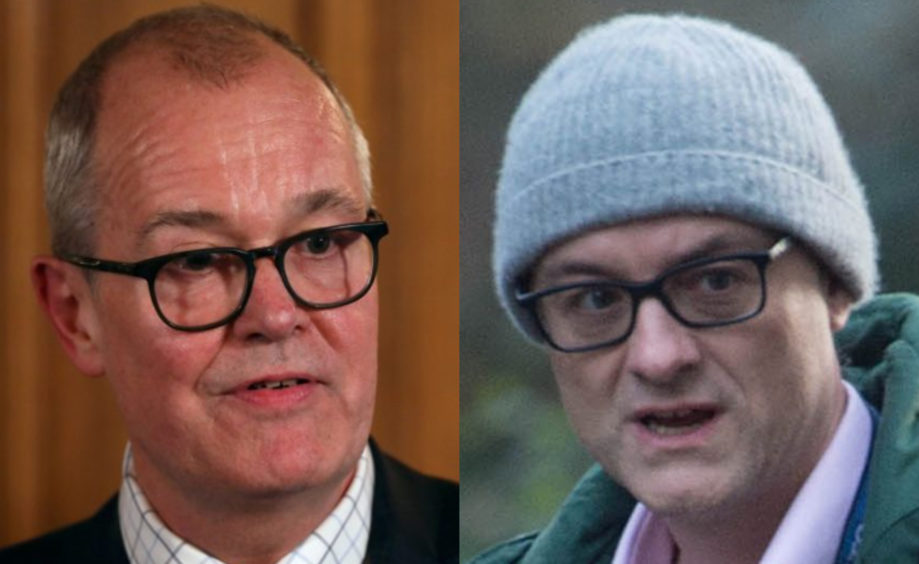Sir Patrick Vallance and Dominic Cummings were both said to have supported a herd immunity strategy before changing course.