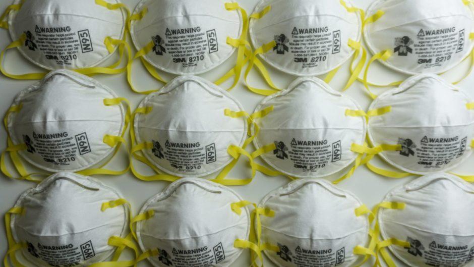 N95 respiratory masks.