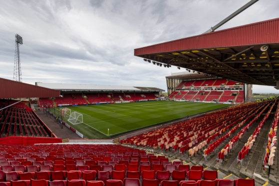 Aberdeen were due to play Hamilton Accies at Pittodrie on Wednesday.