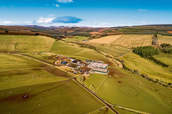 Tipperty Farm is currently being marketed by Galbraith for offers over £4.82m.