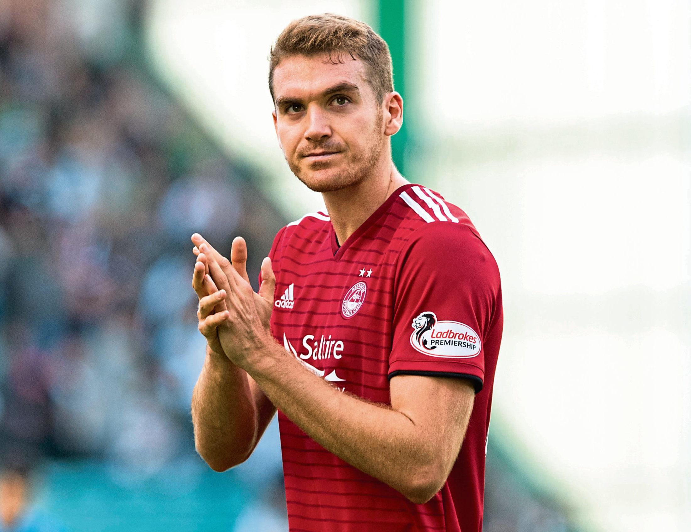 Former Aberdeen defender Tommie Hoban.