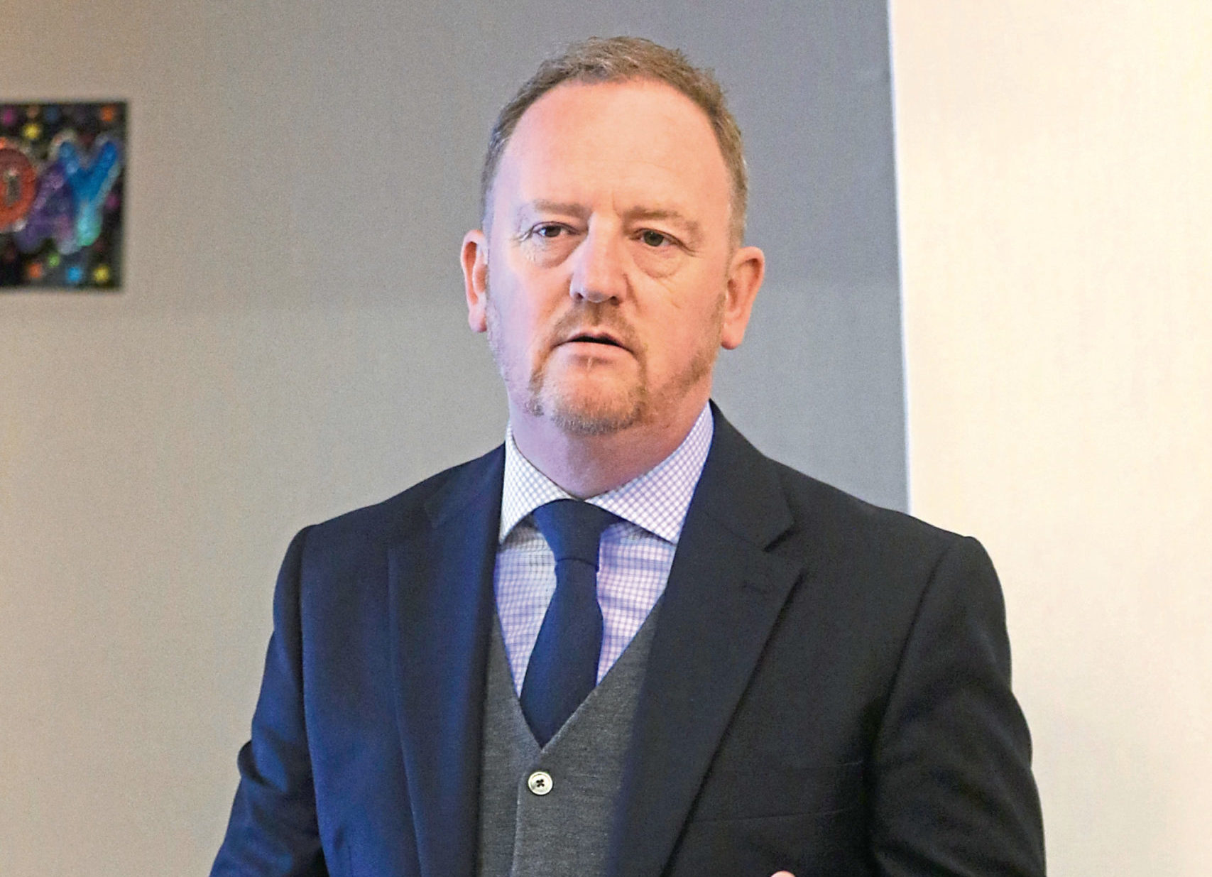 Caley Thistle chief executive Scot Gardiner.
